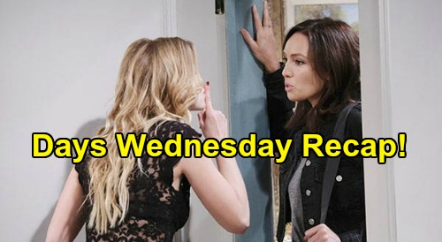 Days of Our Lives Spoilers: Wednesday, June 17 Recap - Jack & Jen Romantic Evening - Gwen Arrives - Tricky Plot To Save Gabi