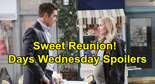 Days of Our Lives Spoilers: Wednesday, June 24 – Sneaky Kristen Spies – Eli Trips Up Victor & Brady – Allie & Rafe's Sweet Reunion