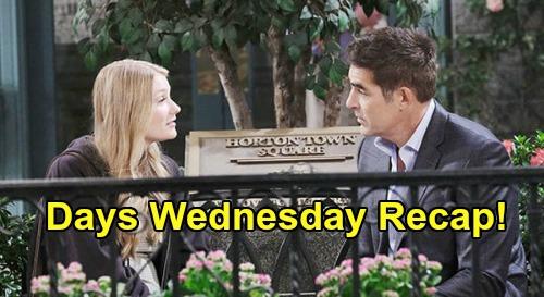 Days of Our Lives Spoilers: Wednesday, June 24 Recap - Lani's Lurking Stalker - Allie & Rafe Tender Reunion - Eli Sinks Kristen