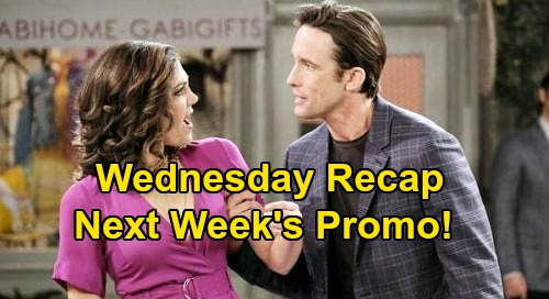 Days of Our Lives Spoilers: Wednesday, September 16 Recap - John's Angry Outburst - Allie Returns - Eric's Appealing Offer