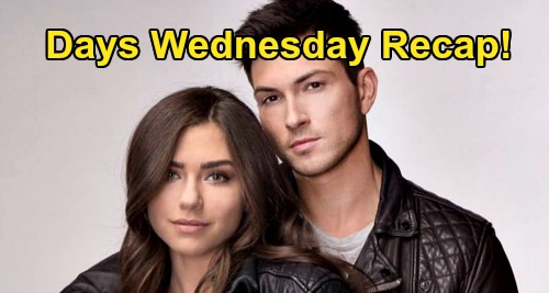 Days of Our Lives Spoilers: Wednesday, September 2 Recap - Ciara Pregnant Dream, Gives Birth To Ben's Baby Boy - Jan Tanks Nicole & Eric's Case