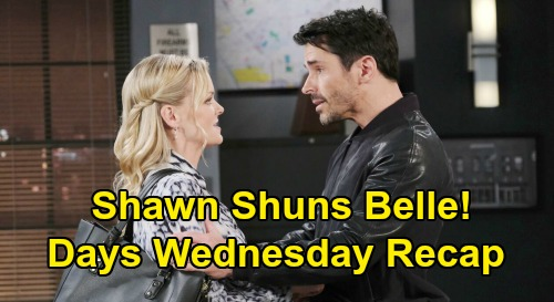 Days of Our Lives Spoilers: Wednesday, September 30 Recap - Hope & Ben Question Vincent on Ciara - Shawn Shuns Belle