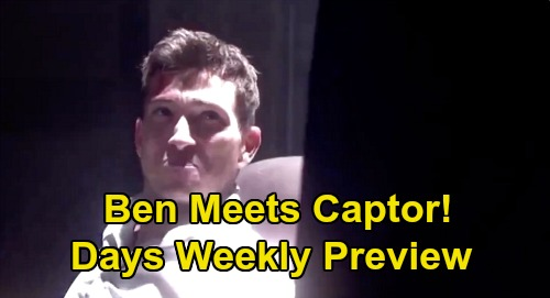 Days of Our Lives Spoilers: Week Of July 27 Preview - Ben Meets Captor - Allie Gives Birth - Sami Ruins Adoption