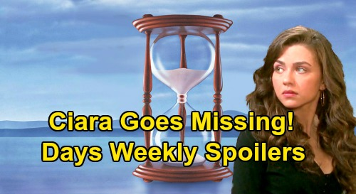 Days of Our Lives Spoilers: Week of August 24 – Gabi & Rafe Flee From Eduardo – Ciara Missing After Ben's Murder Attempt