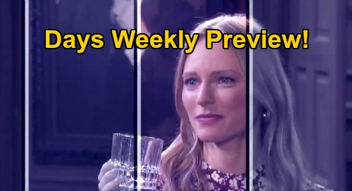 Days of Our Lives Spoilers: Week of August 31 Preview - Amazing Returns - JJ's Emotional Jack Reunion - Sonny & Will Salem Bound