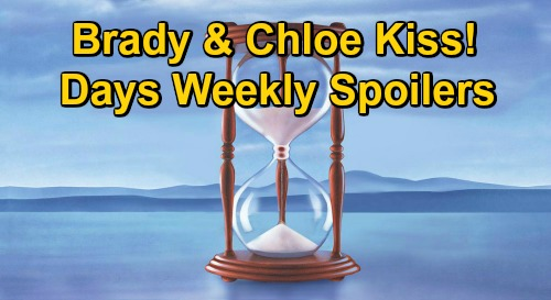 Days of Our Lives Spoilers: Week of December 28 – Will Stops Kate's Tripp Attack – Chloe & Brady Kiss – Chad Caught in Gwen's Trap