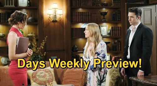 Days of Our Lives Spoilers: Week of January 4 Preview - Ben Saves Claire From Charlie - Abigail Throws Gwen Out