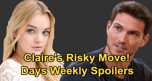 Days of Our Lives Spoilers: Week of July 6 – Stefan's Betrayal with Gwen, Gabi's Jealousy Explodes – Bonnie Bomb – Claire's Risky Plan