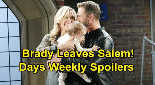 Days of Our Lives Spoilers: Week of June 29 – Brady Leaves Salem – Jake & Vivian's Meeting – Ben & Ciara Blame Claire