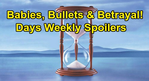 Days of Our Lives Spoilers: Week of May 25 – Eric & Nicole Engaged – Rafe Takes a Bullet – Lani's Baby News – Backstabber Brady