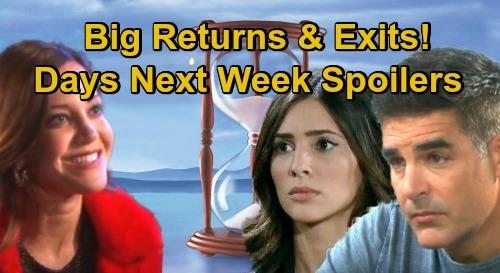 Days of Our Lives Spoilers: Week of November 23 – Gabi & Rafe Return – Shawn Marries Jan – Thanksgiving Preemption