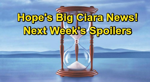 Days of Our Lives Spoilers: Week of October 26 – Allie's Worst Nightmare – Kayla Kidnapping Crisis – Hope's Big Ciara News