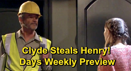 Days of Our Lives Spoilers: Week of October 26 Preview - Kayla Impregnated With Baby Stefano - Henry Stolen - Kate Shoots Clyde