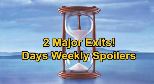 Days of Our Lives Spoilers: Week of September 21 – Haley's Death Haunts Kristen, Melinda's Revenge – 2 Major Exits – Tripp Daddy Drama