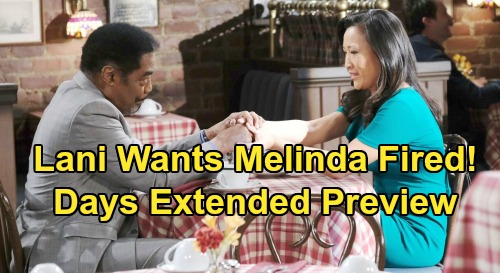 Days of Our Lives Spoilers: Week of September 28 Extended Promo - Vincent Comes Clean - Lani Wants Melinda Fired