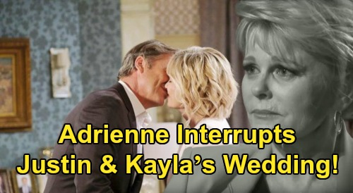 Days of Our Lives Spoilers: Will Adrienne Interrupt Justin & Kayla's Wedding – Wife Reclaims Husband in Back-from-the-Dead Twist?