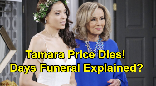 Days of Our Lives Spoilers: Will Lani's Mom Die – Tamara Price's Illness Leads to Funeral, Heartbreak for Daughter?