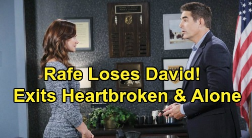 Days of Our Lives Spoilers: Will Rafe Lose Custody of David - Exits Salem Heartbroken & Alone?