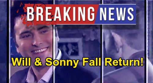 Days of Our Lives Spoilers: Will & Sonny Return After Phoenix Exit – Chandler Massey & Freddie Smith Fall Comeback Details