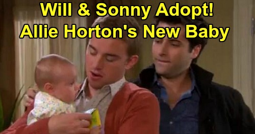 Days of Our Lives Spoilers: Will & Sonny's New Child - Plan to Adopt Allie Horton's Baby?