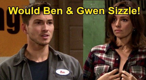 Days of Our Lives Spoilers: Would Ben Sizzle with Gwen – Steamy Potential After Ciara and 'Cin' Trouble Hit Hard?