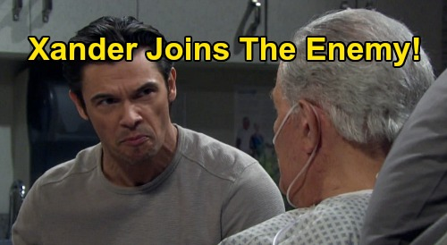 Days of Our Lives Spoilers: Xander Hits Rock Bottom, Joins The Enemy - DiMera Enterprise's New Hire Gives Chad All Titan's Secrets?