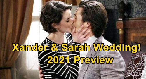 Days of Our Lives Spoilers: Xander & Sarah's 2021 Wedding – New Year Brings Second Chance at 'Xarah' Marriage?