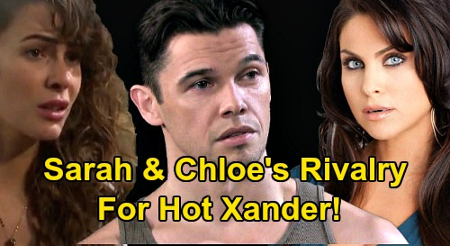 Days of Our Lives Spoilers: Xander's Next Romantic Mess - Sarah's Fierce Rivalry With Chloe Over Kiriakis Bad Boy?