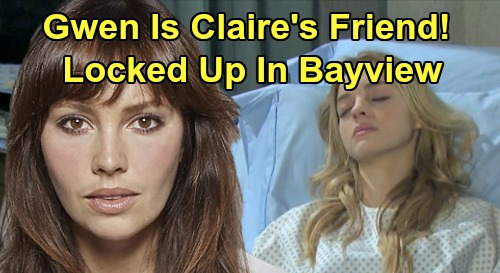 Days of Our Lives Spoilers: Jake's Ex Locked Up In Bayview, Gwen Is Claire's Friend – Shocking Connection Brings Salem Nightmare
