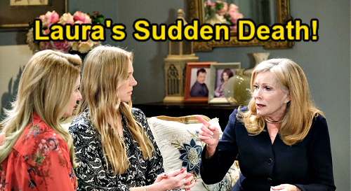 Days of Our Lives Spoilers: Abigail Blames Gwen for Laura's Death – Demands Prison for Grandma Killer, Wants Half-Sister to Pay?