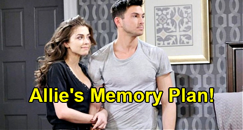 Days of Our Lives Spoilers: Allie Pushes Ciara to Remember Ben Love on Anniversary