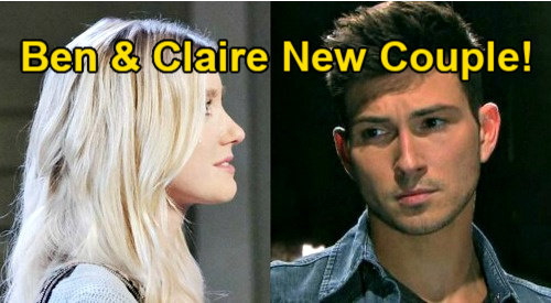 Days of Our Lives Spoilers: Ben & Claire Hot New Couple - Ciara Exits, Struggling Friends Become Lovers?