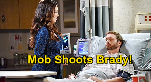 Days of Our Lives Spoilers: Brady's Gunshot Wound After Deadly Vitali Fury – Fights to Survive Following Mob Blowup