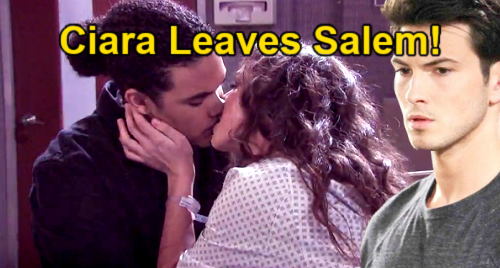 Days of Our Lives Spoilers: Ciara Moves to South Africa with Theo – Ben Heartbroken as Wife Leaves Salem