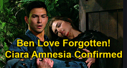 Days of Our Lives Spoilers: Ciara Amnesia Confirmed, Ben Love Erased – Motorcycle Crash Rescue Forgotten