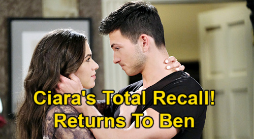 Days of Our Lives Spoilers: Ciara Breaks Theo's Heart & Races Back to Ben – Wife Madly in Love, Total Recall Changes Everything