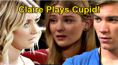 Days of Our Lives Spoilers: Claire Plays Cupid, Pushes Allie & Tripp Together – Happy Ending After Sad London Drama
