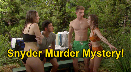 Days of Our Lives Spoilers: Dr. Snyder Murder Victim, Dumped in Lake – Claire & Allie's Horrifying Find During Swim