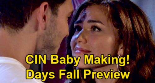 Days of Our Lives Spoilers: Fall Preview – Marlena Levitates – Ben & Ciara's Baby-making Mission – Chanel's Maid of Honor Snub