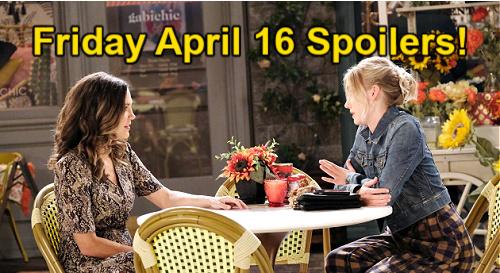 Days of Our Lives Spoilers: Friday, April 16 – John's Hypnosis Memories – Trask Demands Belle's Arrest – Spark for Tripp & Allie
