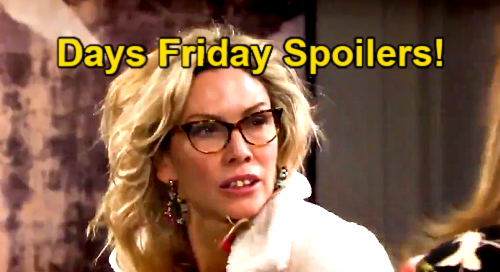 Days of Our Lives Spoilers: Friday, April 23 – Lucas' Terminal Illness – Jake Upsets Gabi – Kate Rips Off Kristen's Wig