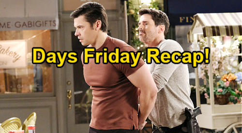 Days of Our Lives Spoilers: Friday, August 13 Recap – Ciara Kisses Ben in Reunion – Xander Takes Drug Blame
