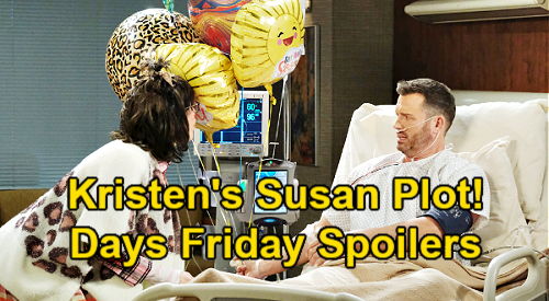 Days of Our Lives Spoilers: Friday, February 5 – Ben's Promise to Ciara – Kristen's Susan Scheme – Chloe & Philip's Steamy Kiss