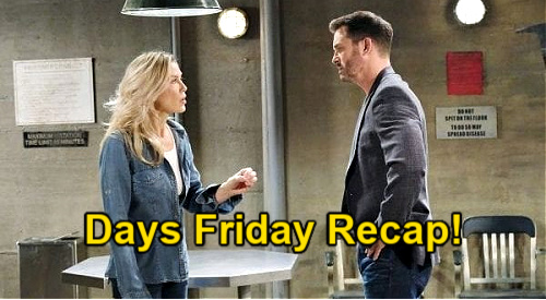Days of Our Lives Spoilers: Friday, January 8 Recap - Kristen Rages - Bonnie Sees Dr. Raynor & Twins - Xander's Onto Philip