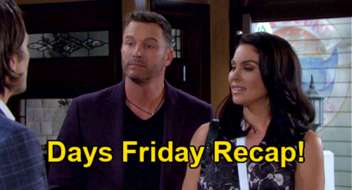 Days of Our Lives Spoilers: Friday July 16 Recap – Xander Out on Bail, Nicole's Public Cheating Begins
