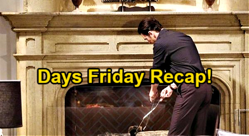 Days of Our Lives Spoilers: Friday, July 9 Recap – Claire Done Being Ciara's Punching Bag – Mystery Person Steals Burning Letter
