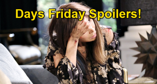 Days of Our Lives Spoilers: Friday, May 14 – Kate Collapses, Needs Hospital ASAP – Kristen Disappears Chloe – Nicole Lies to Rafe