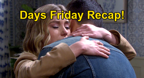 Days of Our Lives Spoilers: Friday, May 21 Recap – Gwen Is Dr. Snyder's Drug Mule – Ben & Claire Strip Down – Jan Grabs Gun