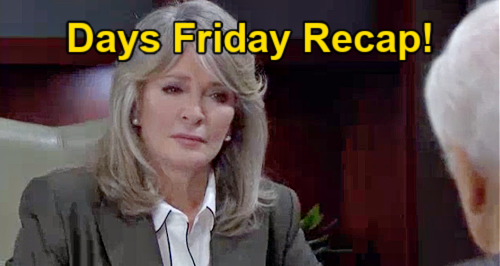 Days of Our Lives Spoilers: Friday, September 17 Recap – Devil Doug Comes for Marlena – EJ Embarrasses Chad with Abigail