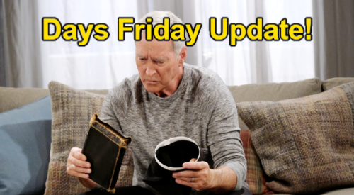 Days of Our Lives Spoilers: Friday, September 17 Update – John's Priest Memory – Abigail's Request – Kate's Flirty Encounter